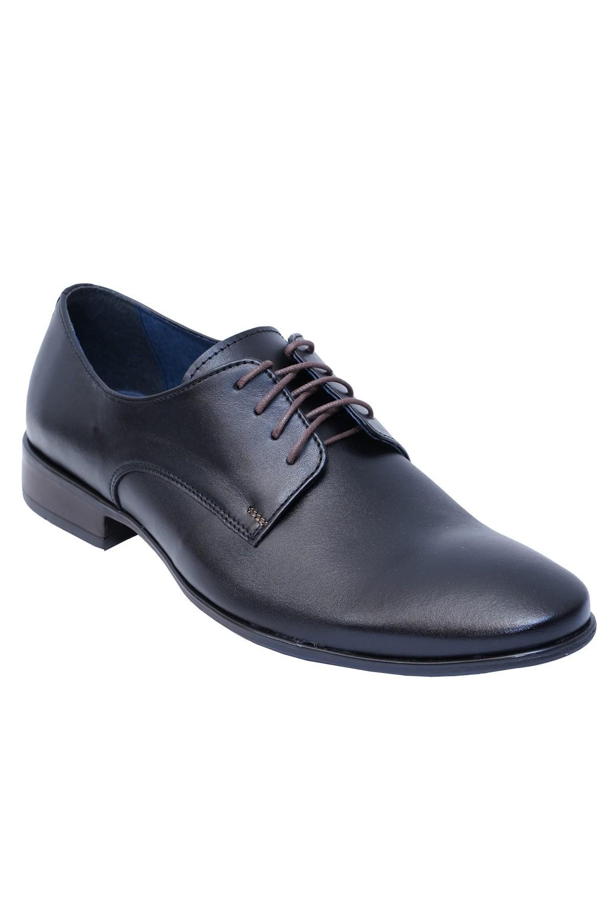 czarne  buty eleganckie do garnituru