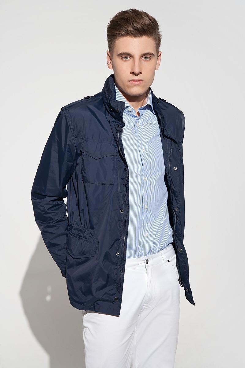 Navy men's outdoor jacket