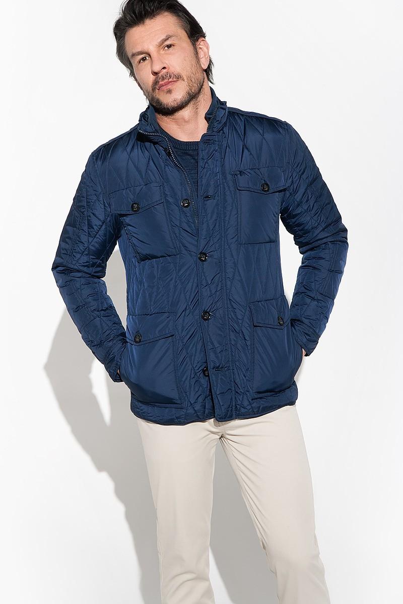 Quilted men's outdoor jacket