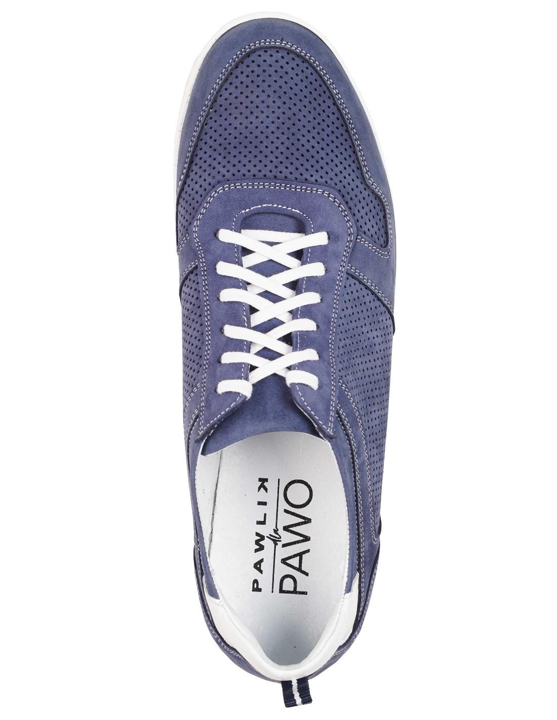 niebieskie sneakersy męskie