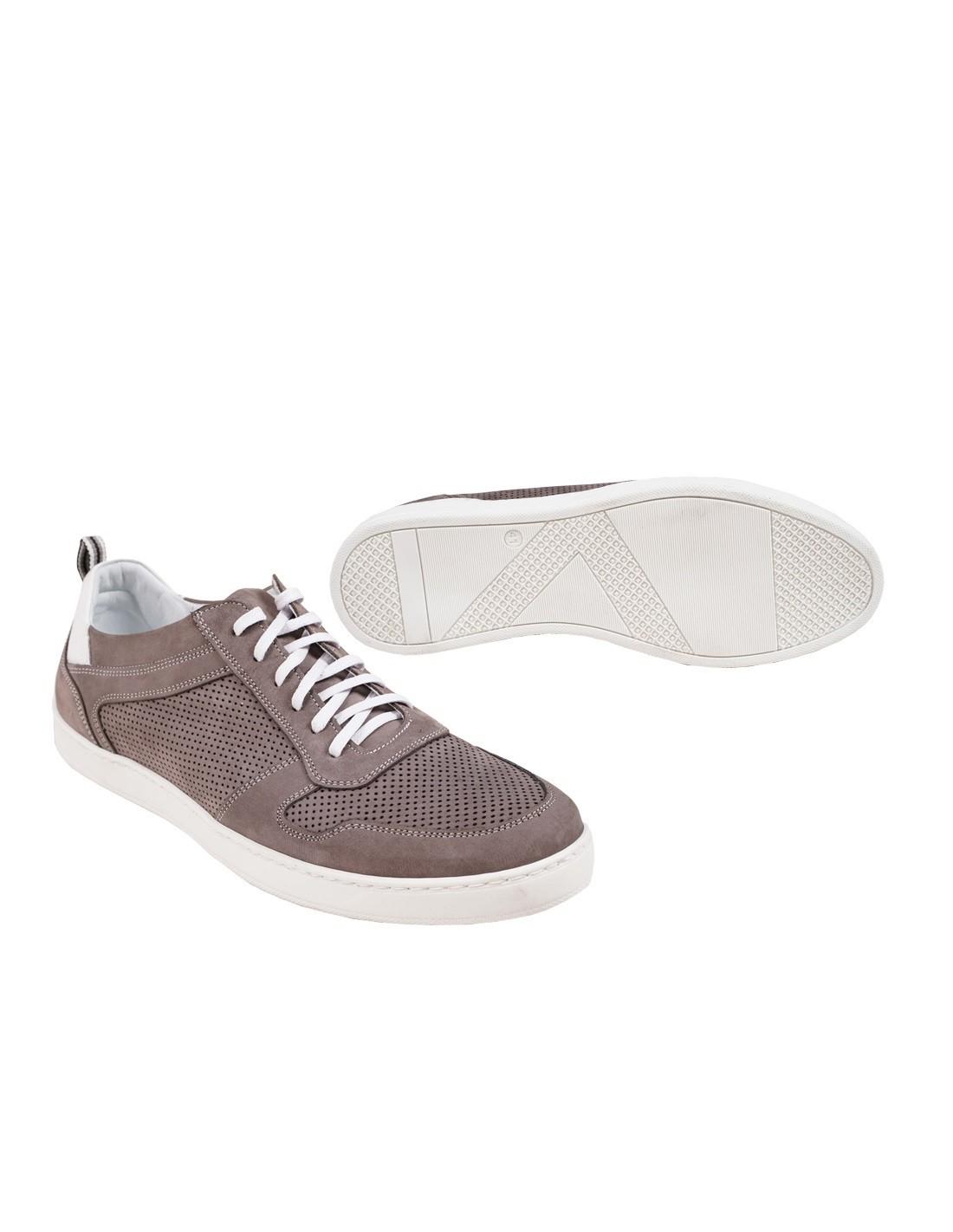 skórzane sneakersy męskie