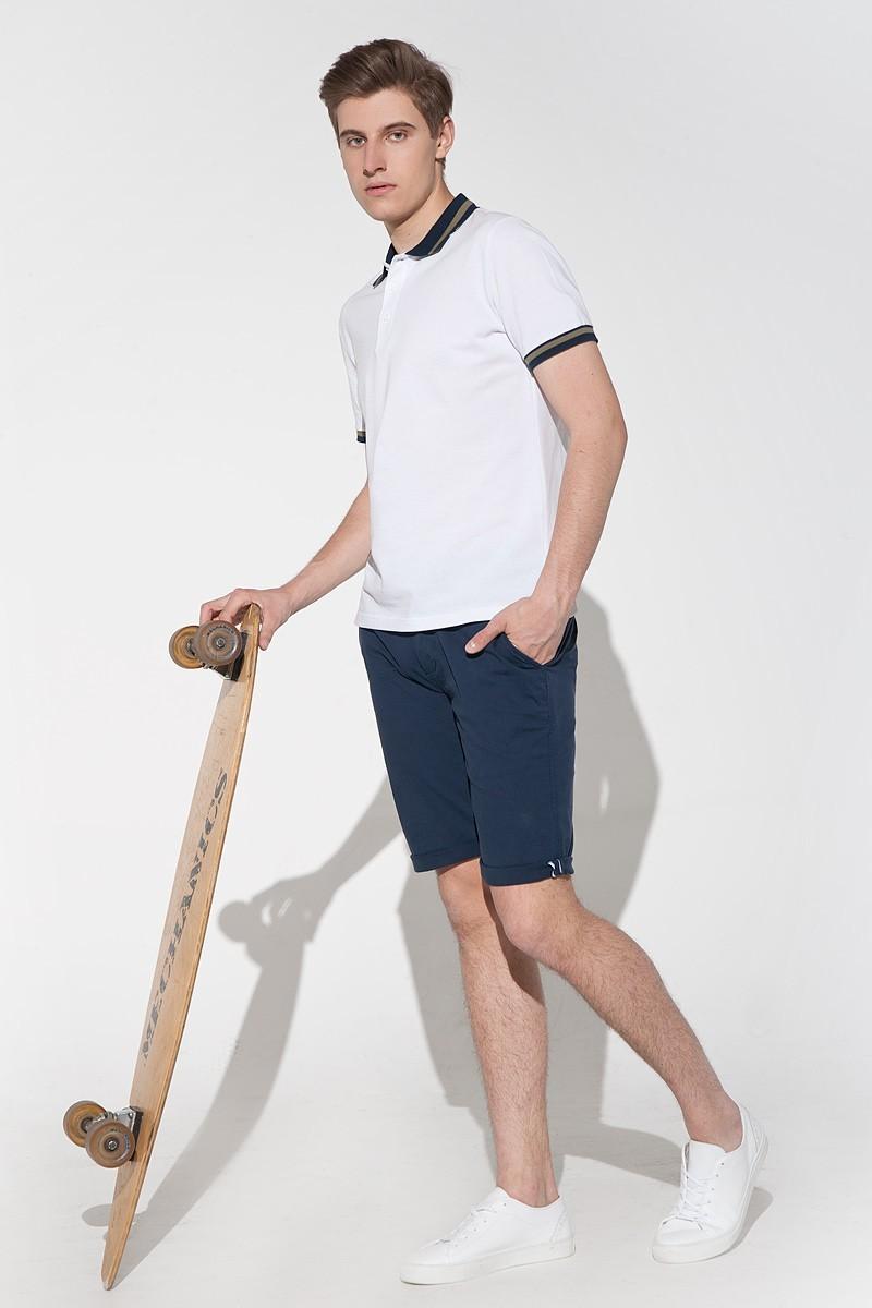biała koszulka męska polo