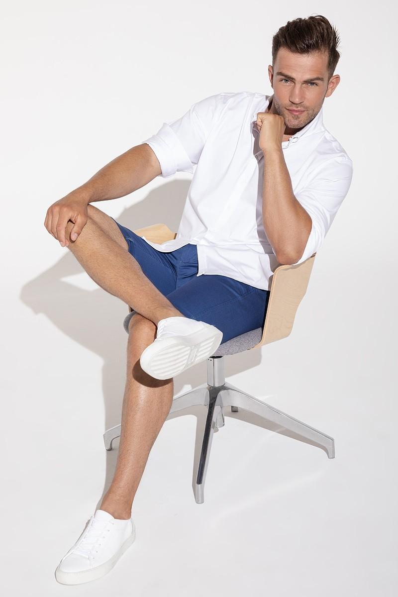 Blue men's shorts