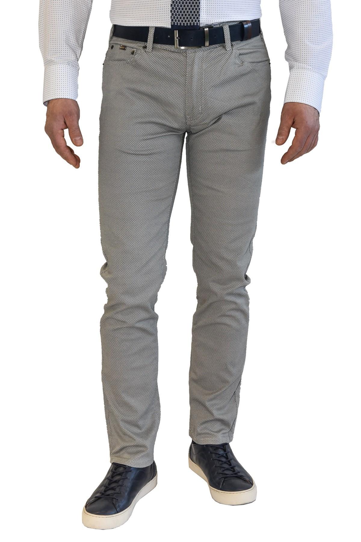 beżowe spodnie męskie