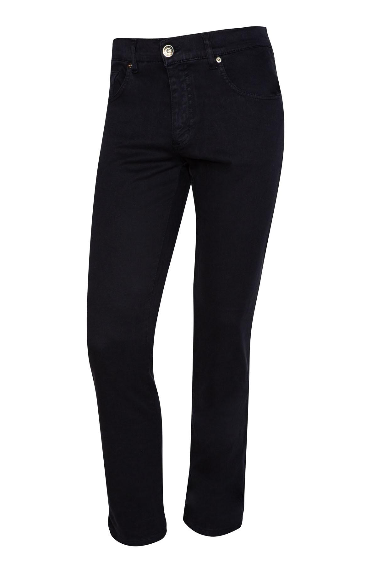 ciemnogranatowe spodnie męskie