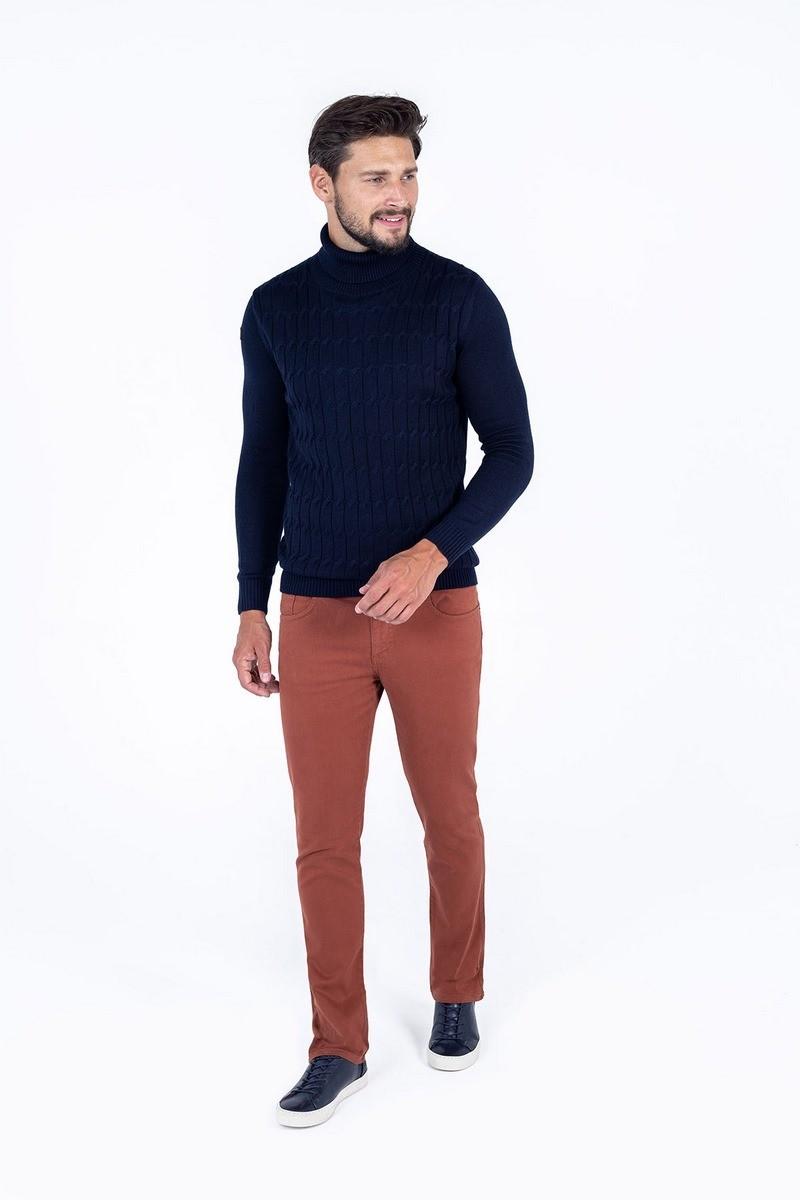 rude spodnie męskie bawełniane casual dżinsy