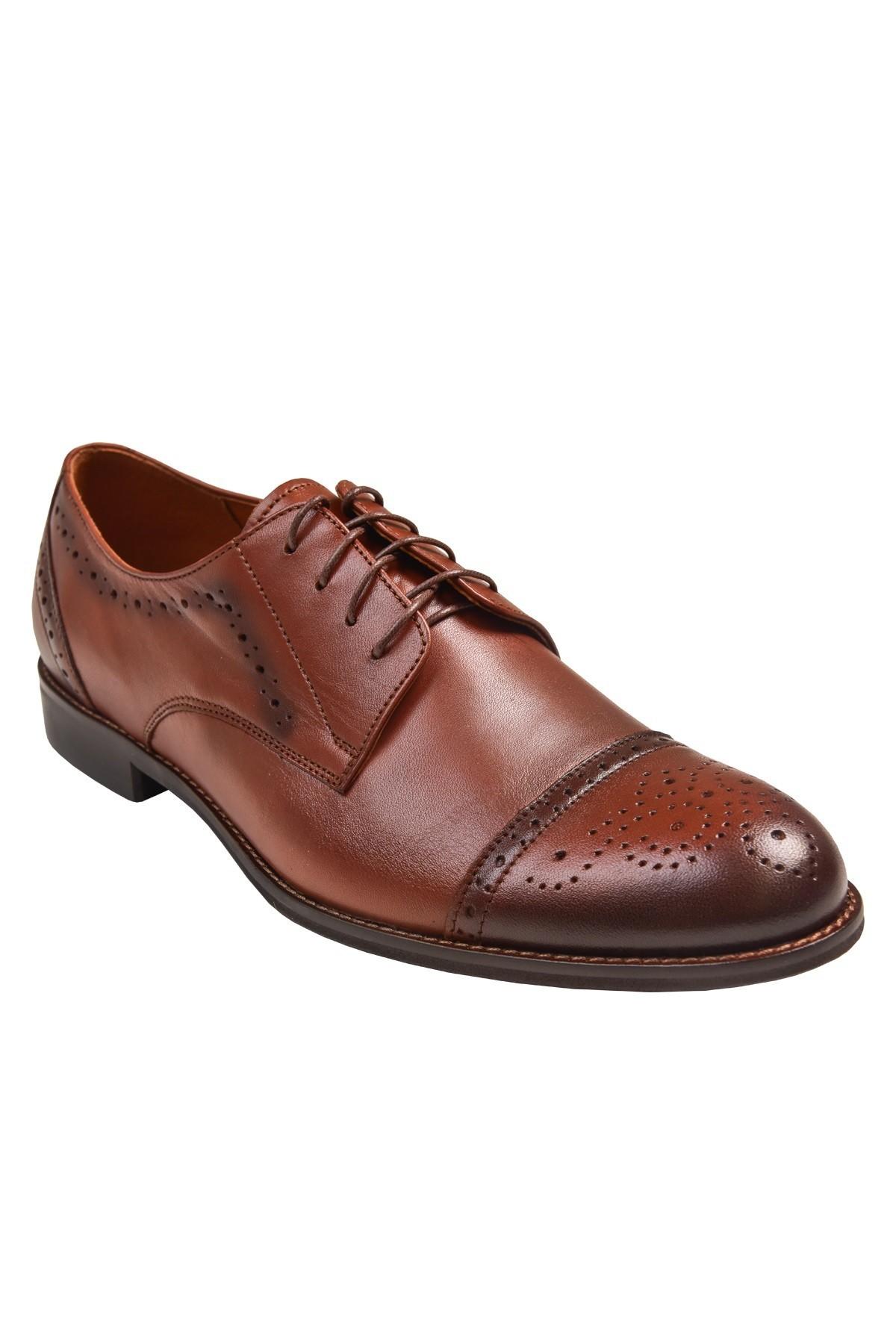 Eleganckie buty męskie do garnituru skóra