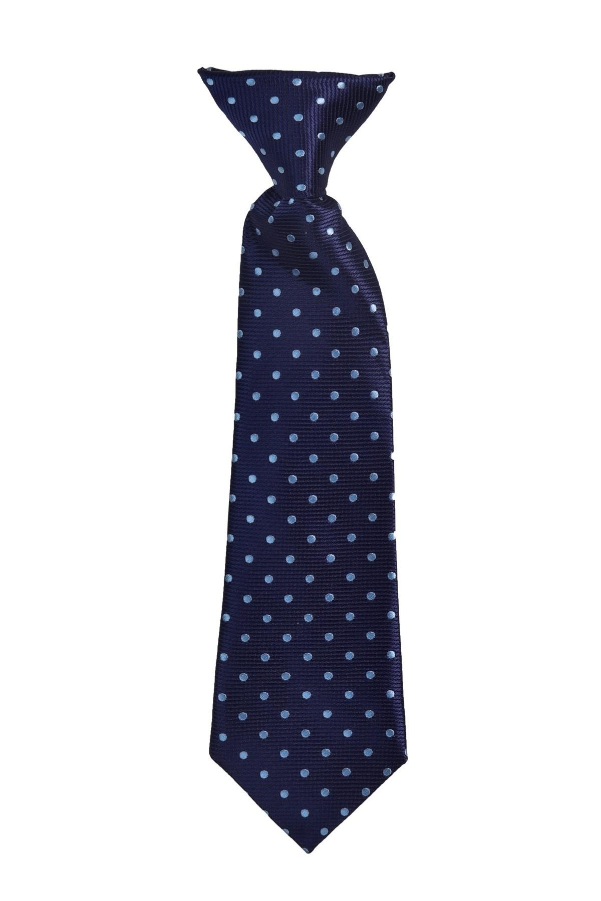 krawat chłopięcy wpinany