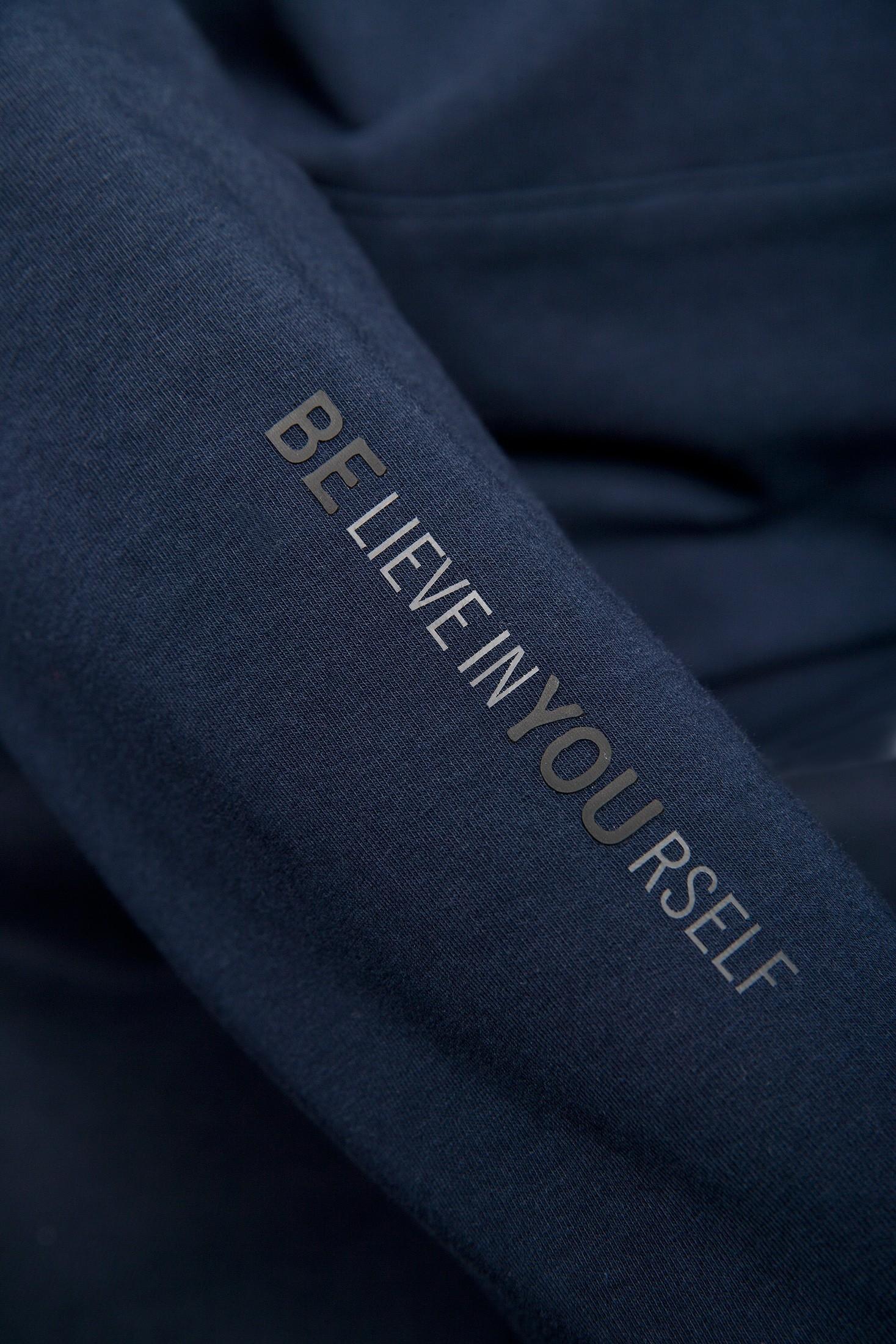 Navy men's hoodie